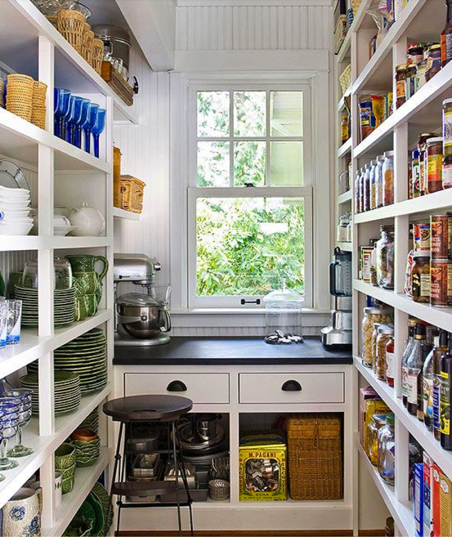 Walk In Pantry Design Ideas Modern Walk In Pantry Open: Custom Appliance Pantries: The New Trend In Kitchen Pantry